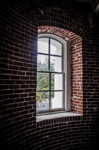 Umpqua Lighthouse Window