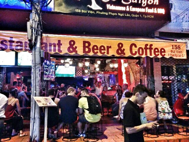 Night life in Hanoi