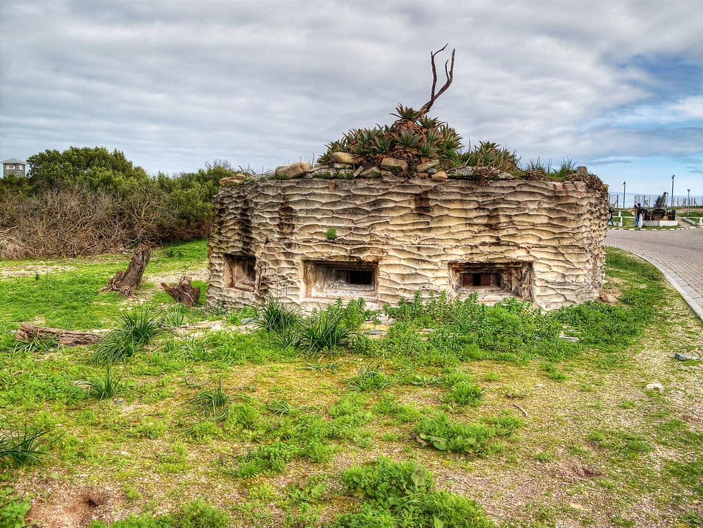 Leftover bunker from the military instillation.
