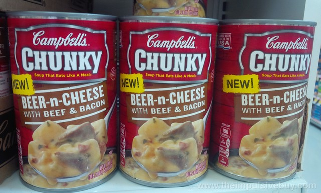 Campbell's Chunky Beer-n-Cheese with Beef & Bacon