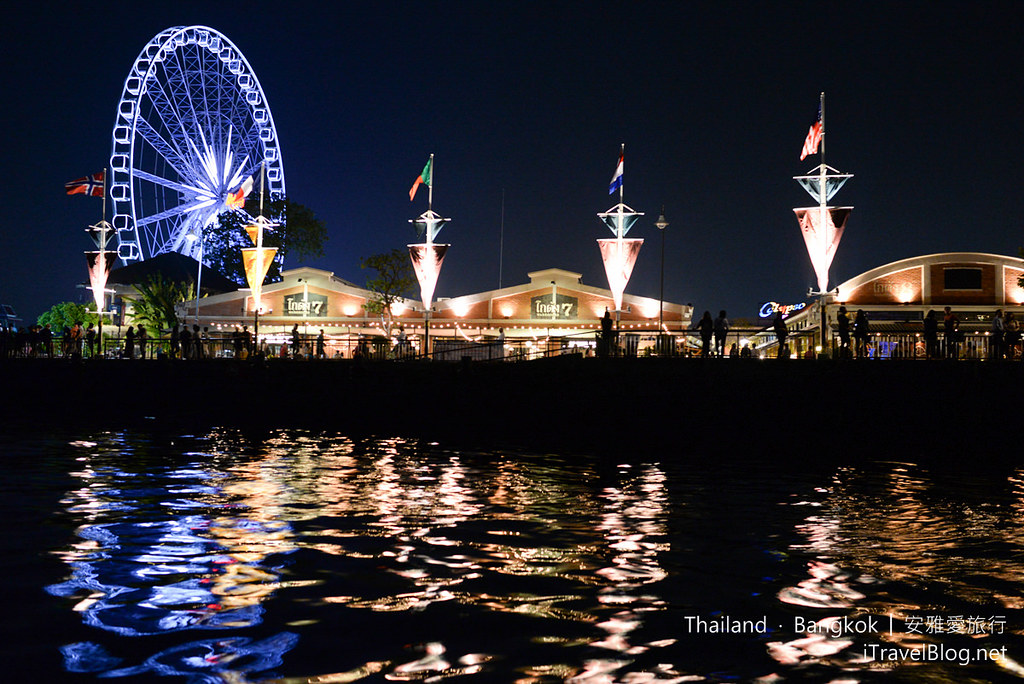 曼谷 河岸码头夜市 ASIATIQUE The Riverfront 88