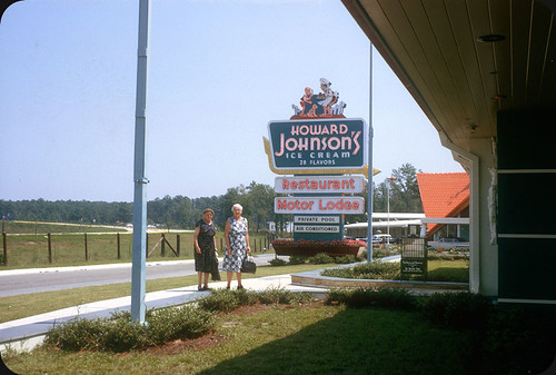 Howard Johnson's, North Carolina – 1964