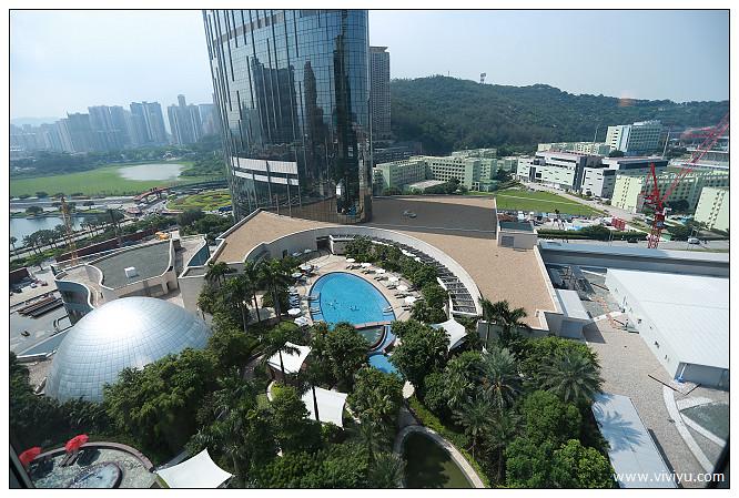 Hard Rock hotel,新濠天地,泳池,澳門硬石,飯店 @VIVIYU小世界