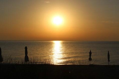 Sunset at Chalkidiki