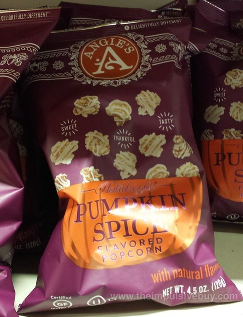 Angie's Holidrizzle Pumpkin Spice Popcorn