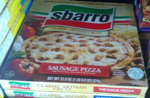 Sbarro Sausage Pizza