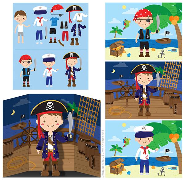 Pirate dressup