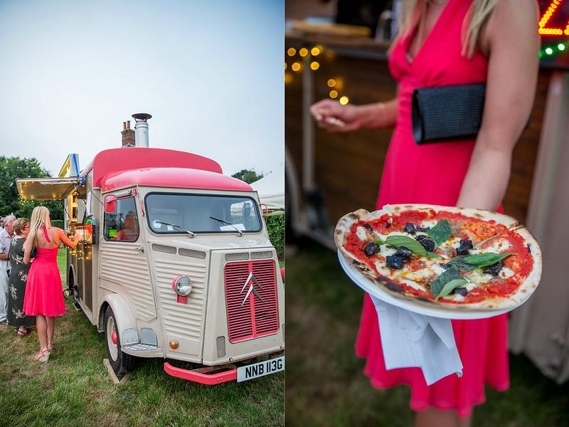 wedding pizza van