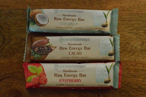 Coconut Magic raw energy bars