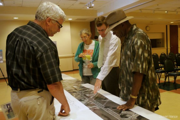 Clybourn Ave. protected bike lane meeting