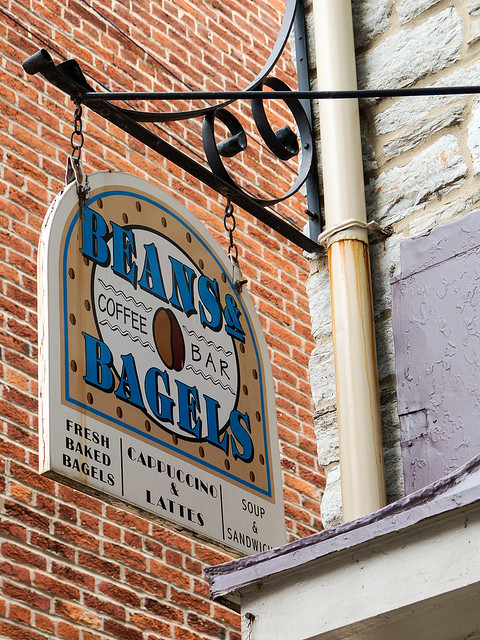 Beans & Bagels, Frederick, MD.