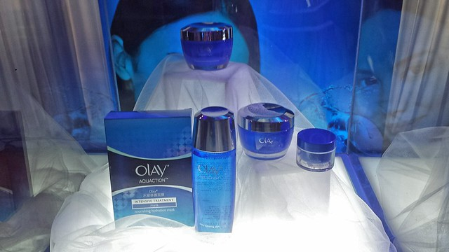 #AquaBeauty Olay AquAction Pantene Aqua Pure