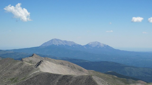 Picture from Culebra Peak, Colorado