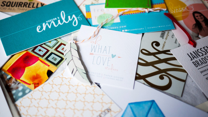 Alt Summit Summer 2014 Business Cards - Oh What Love Studios