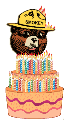 Happy Birthday Smokey Bear Notionscapital