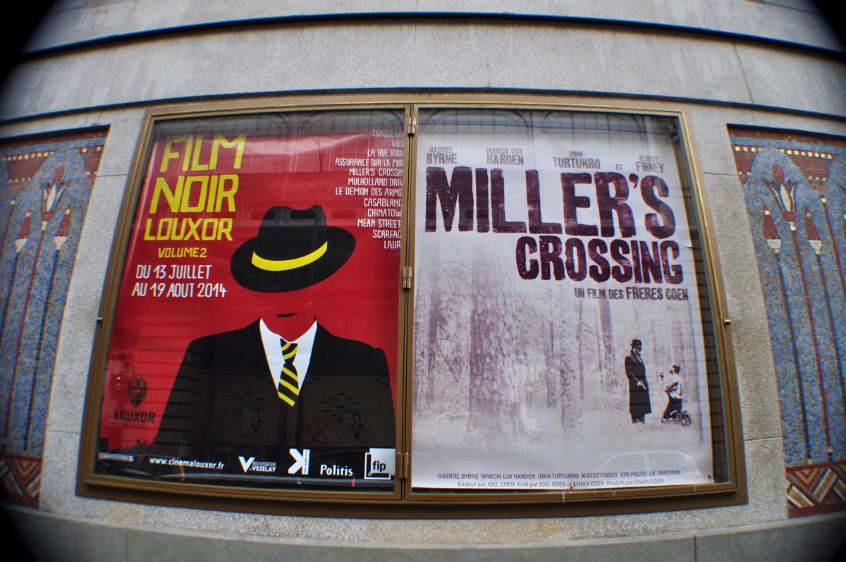 Film Noir Louxor et Miller's Crossing