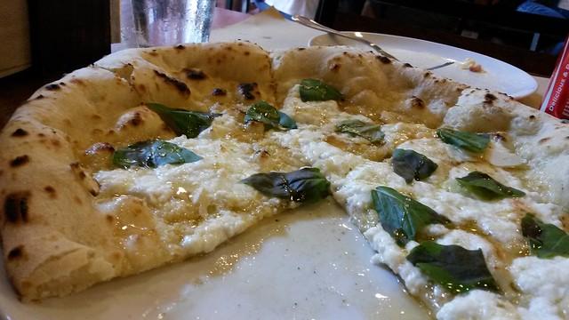 bianca verde pizza