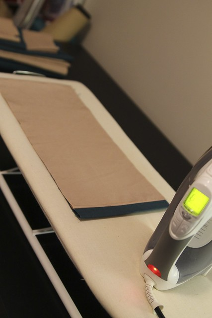 DIY Pleated Bedskirt Iron