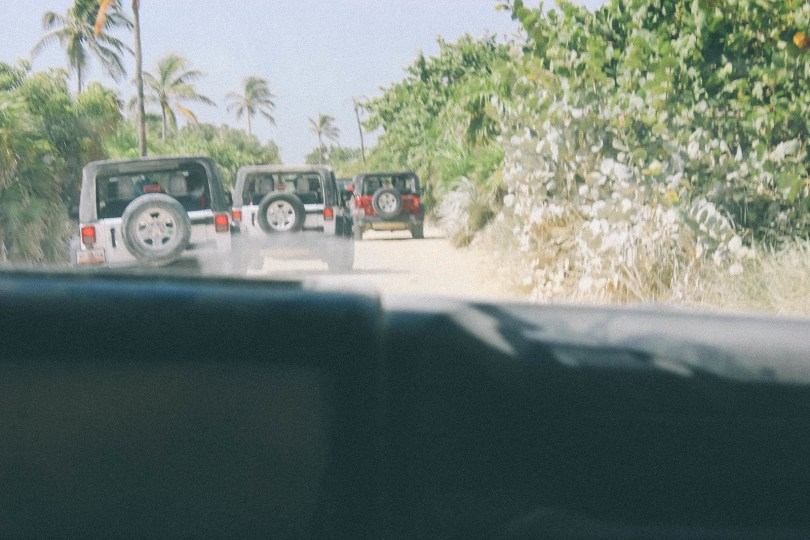Jeep Safari in Sian Ka'an