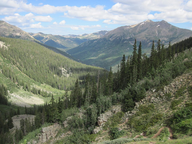 Picture from La Plata Peak, Colorado