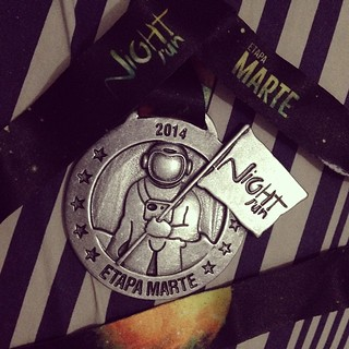 Medalha!! #medalha #run #correr #corrida #fila #filanightrun #filanightrun2014 #filanightrunrecife #etapamarte #5km