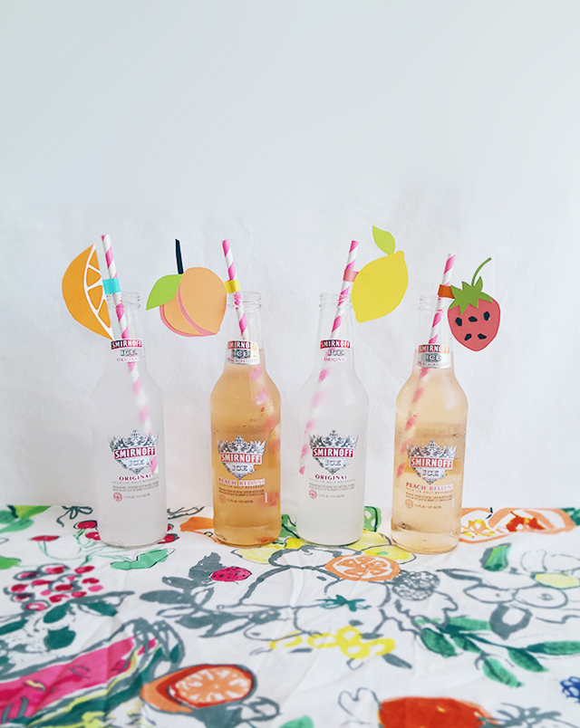 smirnoff ice fruit straws