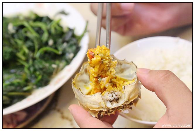 大閘蟹,牧牛湖,蟹肉,蟹膏 @VIVIYU小世界