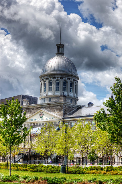 Bonsecours Market, Montreal.