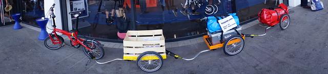 Eurobike 2014: Hinterher trailer train