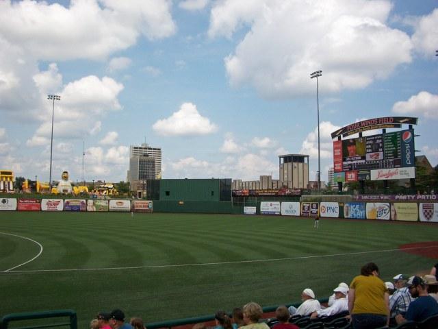South Bend Silver Hawks -- Four Winds Field at Coveleski Stadium