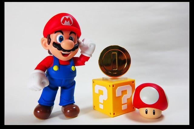 (玩具收藏) S.H.Figuarts - 瑪莉歐 + 遊戲配件包A&B @ Louis's Lego Life :: 痞客邦