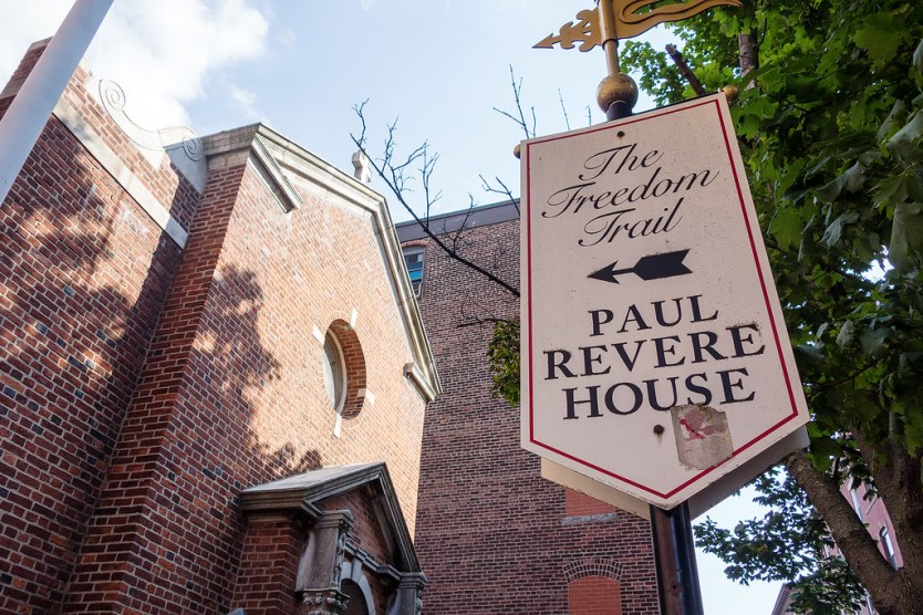 Hot on the trail to Paul Revere.