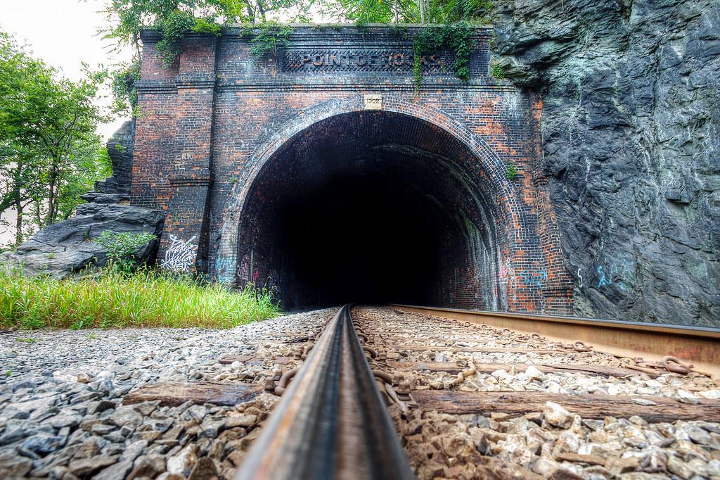 Point of Rocks Railroad tunnel.