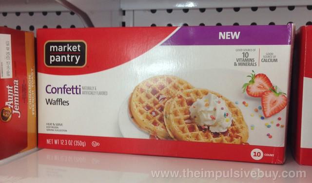 Market Pantry Confetti Waffles