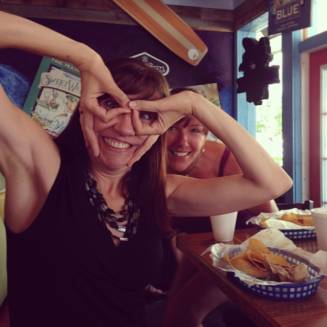 Birthday lunch. Who says you have to grow up? #beergoggles