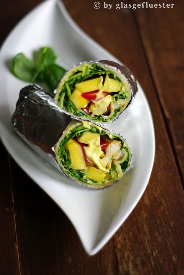 Mango Curry Wraps 2 klein