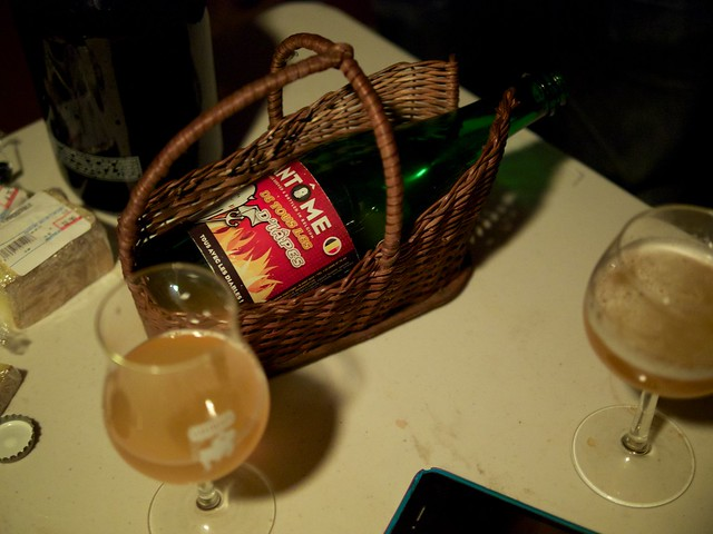 Lambic Beer Tasting w/ Friends
