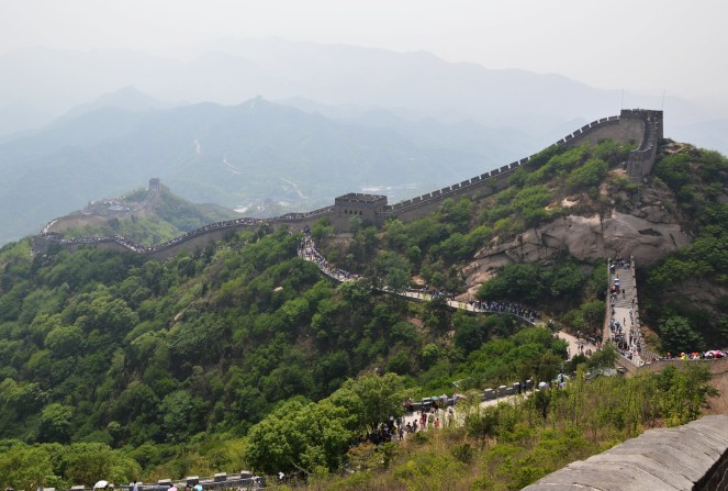 the great wall of china, beijing, travel