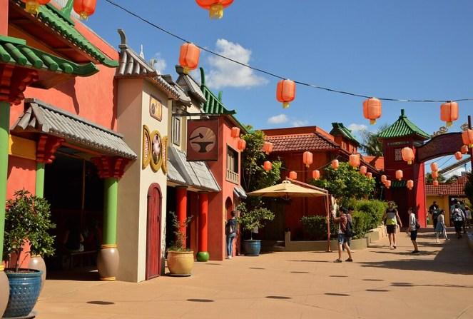 Chinatown, Dreamworld, Gold Coast, Australia