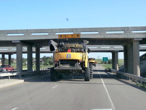 Tight squeeze under the bridge
