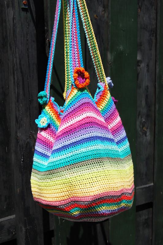 Studio Paars crochet bag gehaakte tas Lucy Attic24