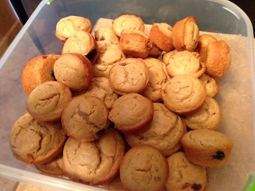 PB & J muffins!