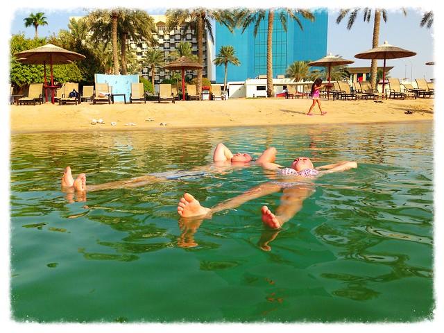 Bri & Maz @DohaMarriott Beach