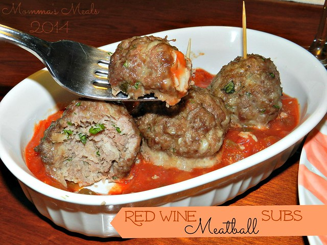Red Wine Meatball Subs (3)p