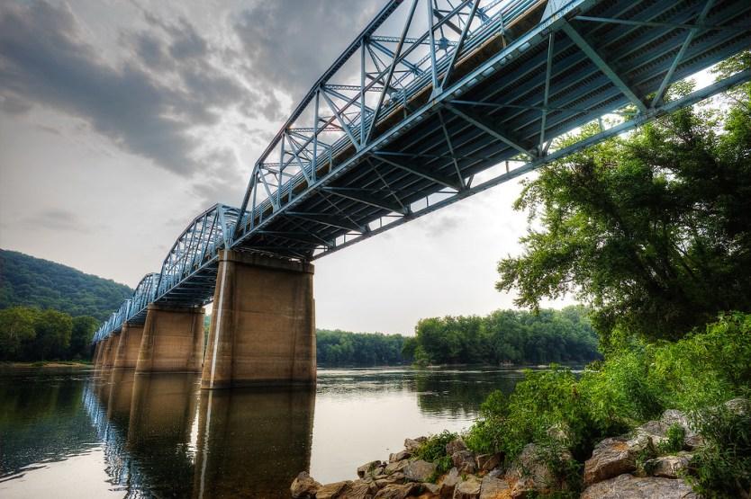 Route 15 Bridge over the Potomac River.