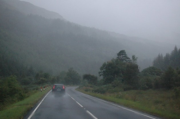 Rainy Scotland Roads 01