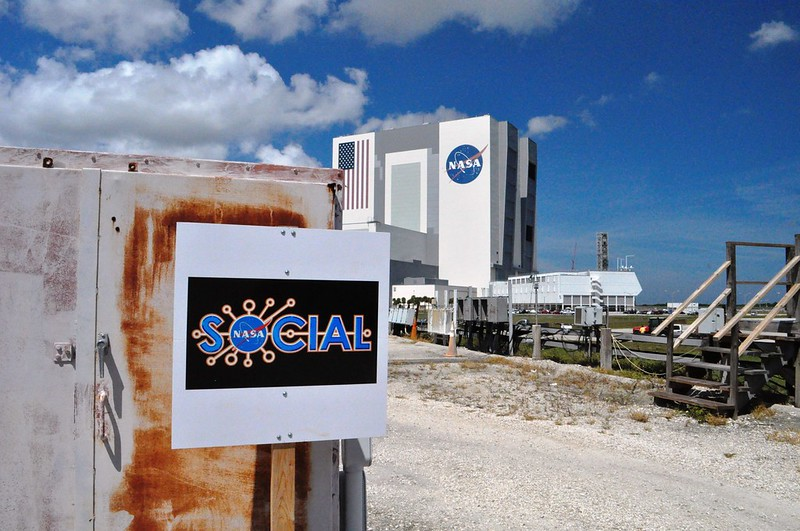 #NASASocial #SpaceX4 - NASA Kennedy Space Center Press Site, Sept. 18, 2014