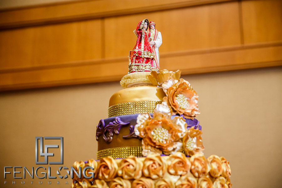 Reception | Crowne Plaza Ravinia | Atlanta Pakistani Muslim Wedding