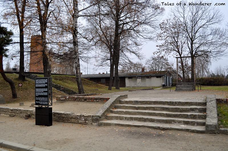 OŚWIĘCIM - Stammlager Auschwitz I