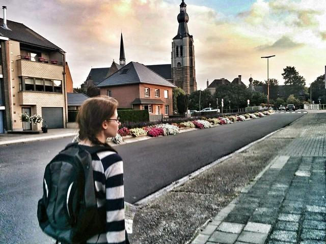 A walk in town: Aarschot